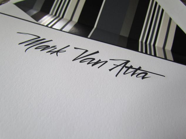 """Brush Lettering """"Van Atta"""""""