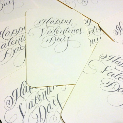 Marlean's Flourished Script -Valentines-Messages