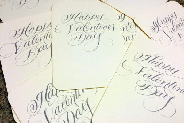Flourished Valentines Messages