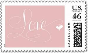 Marlean Tucker's Love-Stamp-Pink- Dazzle Store