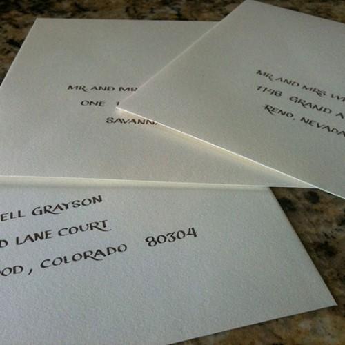 Block Script Envelopes