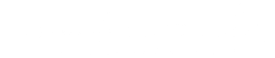 Calligraphy By Marlean