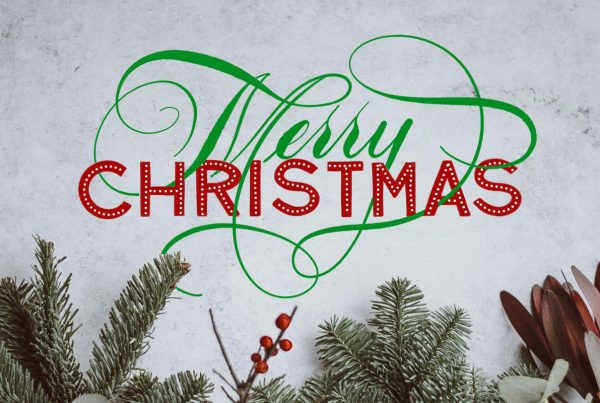 merry christmas ipad lettering