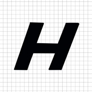 Black Sans Serif H
