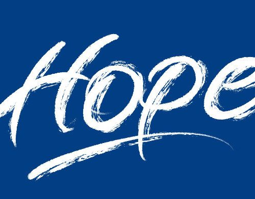 Hope - Brush lettering